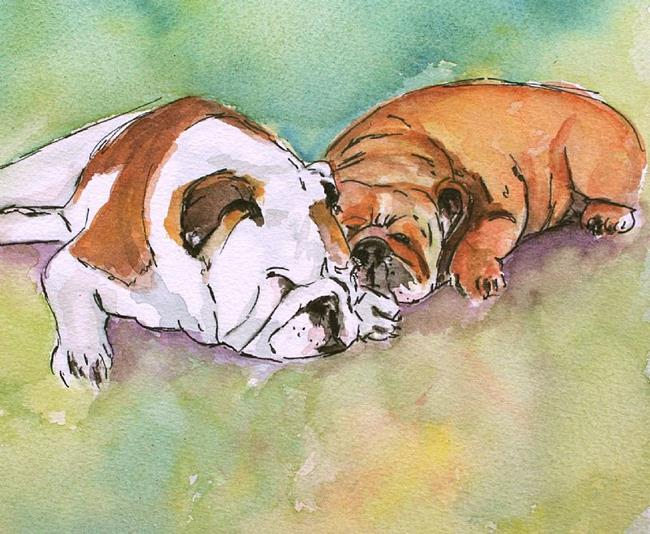 Art: Cbulldogs by Artist Deborah Sprague