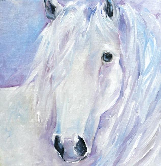 Art: Cwhitehorse by Artist Deborah Sprague