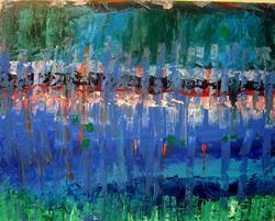 Art: 10 31 11 16x20 by Artist Mark A Opdahl