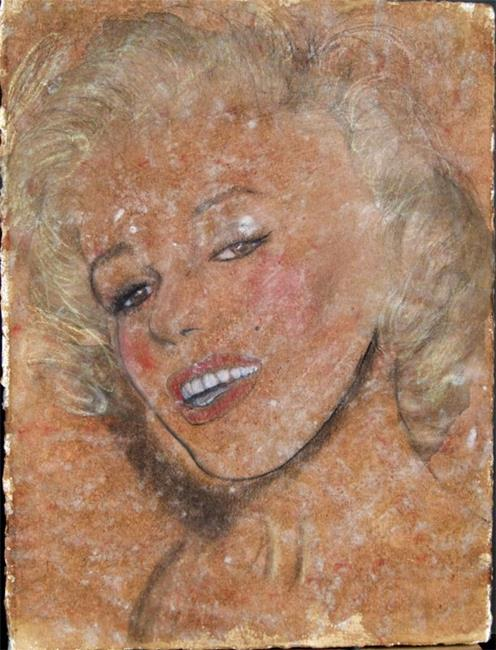 Art: Marilyn Monroe by Artist Jovon Vitella