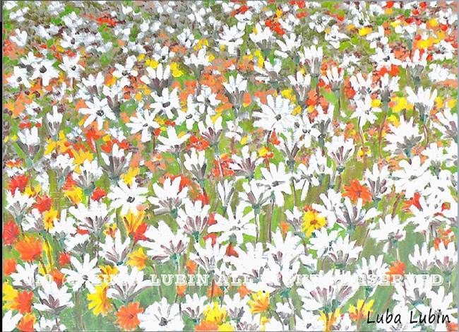 Art: bright meadow (s) by Artist Luba Lubin