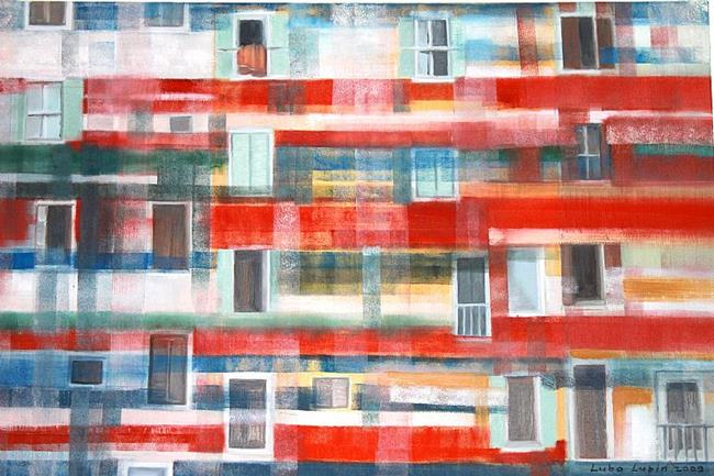 Art: Windows by Artist Luba Lubin