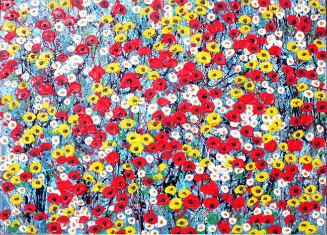 Art: Wildflowers (s) by Artist Luba Lubin