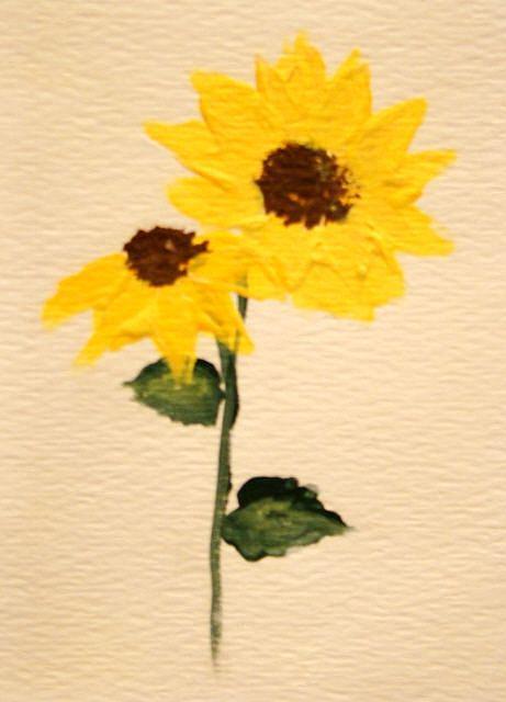 Art: Sunflowers by Artist Leea Baltes