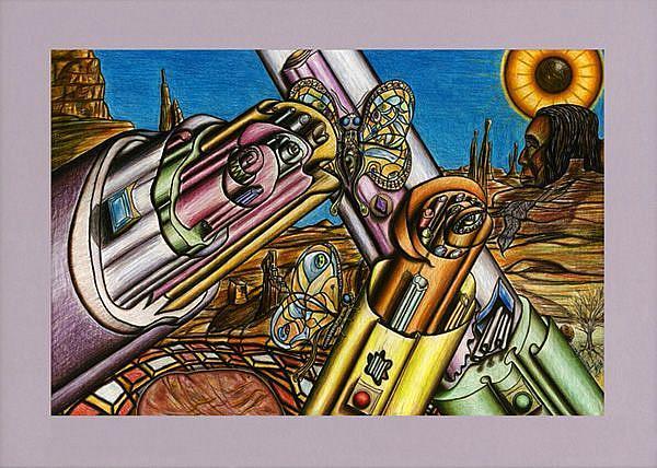 Art: Crystal-Sedona by Artist William Powell Brukner