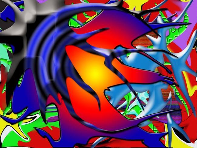 Art: Digital Art  11 by Artist William Powell Brukner