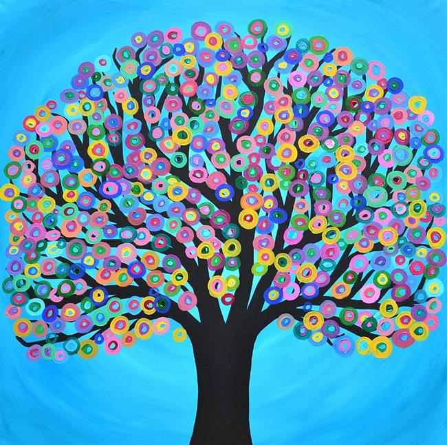 Related Keywords Suggestions Abstract Tree Paintings Long Tail ...