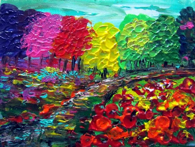 colorful landscape by luiza vizoli from