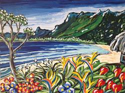 Art: Hawaiiano by Artist Andrea Golino