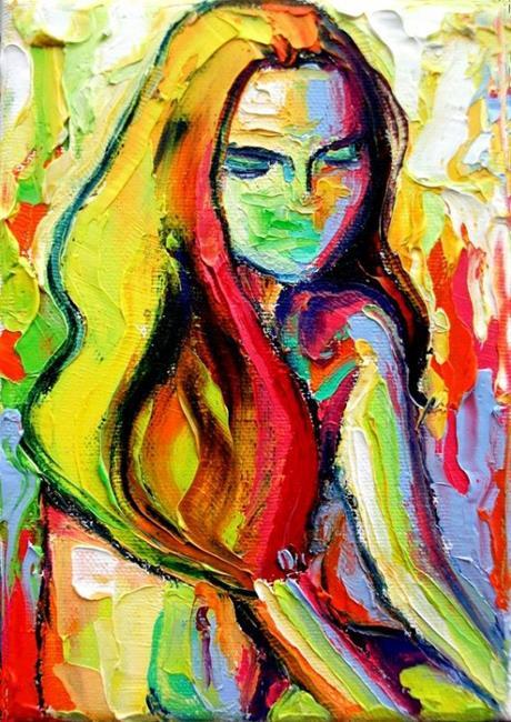 Art: femme 185 by sagittariusgallery d4mr0vz by Artist Aja