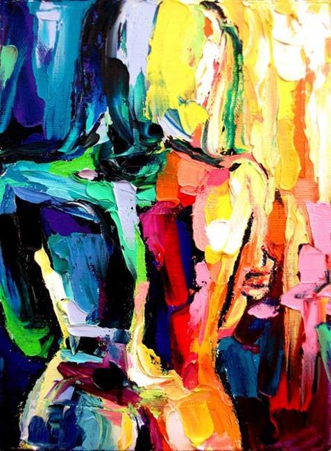 Art: femme 190 by sagittariusgallery d4mr38j by Artist Aja