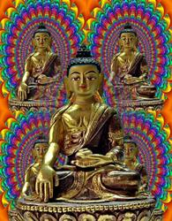 Art: Serenity of the Buddha by Artist Mario Carini