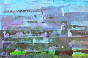 Detail Image for art Blue-Purple Abstraction 128 (a)