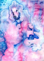 Art: poodlenwhale2 by Artist Valerie Meijer