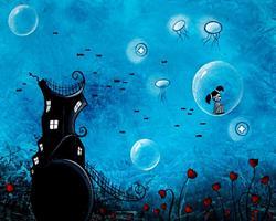 Art: Leaving this place behind by Artist Jaime Zatloukal Best