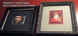 Art: framed_aceos.jpg by Artist Erika Nelson