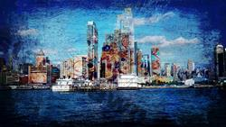 Art: New York Paint the City by Artist Staci Dawn