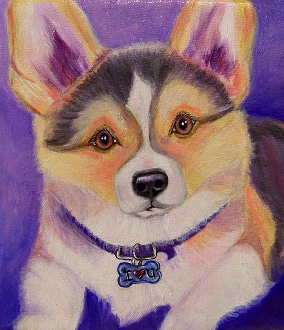 Art: custom dog portrait 011 by Artist Camille Meeker Turner