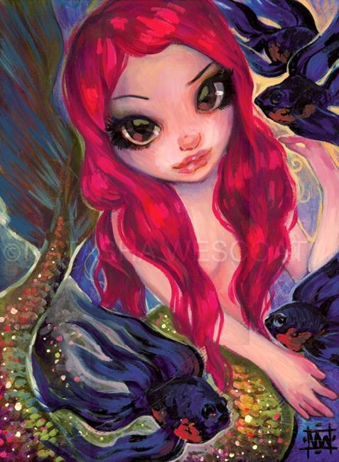 Art: mermaidandblackmoors by Artist Natasha Wescoat