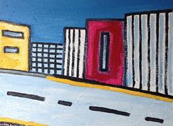 Art: CityLines by Artist Andrea Golino