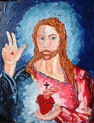 Art: Sacro Cuore by Artist Andrea Golino
