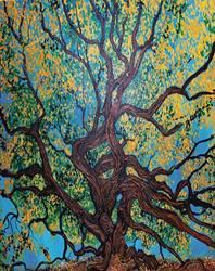 Art: Angel Oak Young by Artist Stefan Duncan