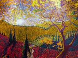 Art: Beyond The Valley by Artist Stefan Duncan