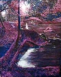 Art: A Stream To Dream by Artist Stefan Duncan