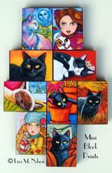 Art: Mounted Mini Giclee Prints by Artist Lisa M. Nelson