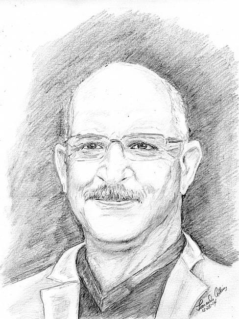 Art: Pencil Portrait by Artist Leonard G. Collins