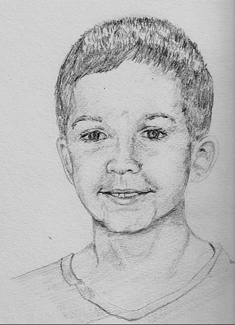 Art: Pencil Portrait by Leonard G. Collins by Artist Leonard G. Collins