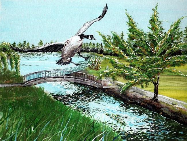 Art: West Moreland Park by Leonard G. Collins by Artist Leonard G. Collins