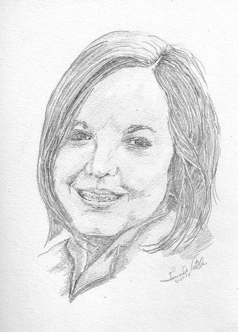 Art: Pencil Portrait by Artist Leonard G. Collins