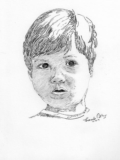 Art: Portrait by Leonard G. Collins by Artist Leonard G. Collins