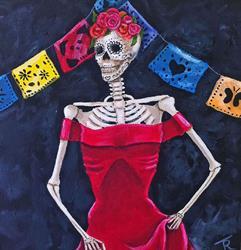 Art: Lady in Dead by Artist Tabatha  Rhodes