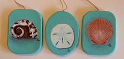 Art: Shells by Artist Tabatha  Rhodes