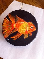 Art: Goldfish by Artist Tabatha  Rhodes