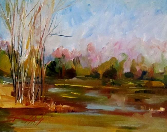 Art: Landscape and Sky by Artist Delilah Smith