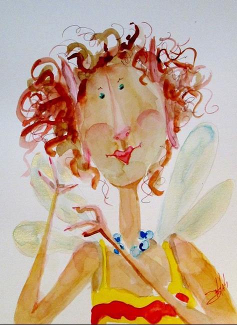 Art: Cute Fairy by Artist Delilah Smith