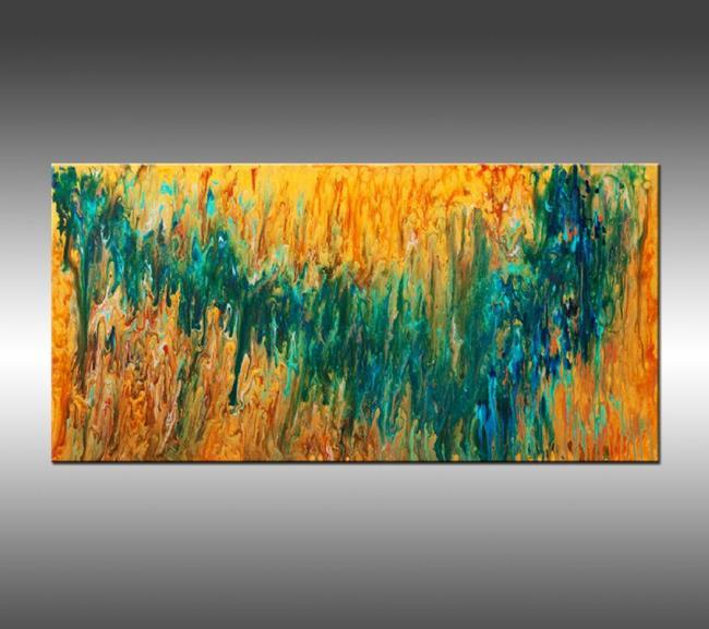 Art: Liquid Energy 19 by Artist Hilary Winfield