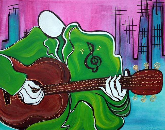 Art: Music Man by Artist Laura Barbosa