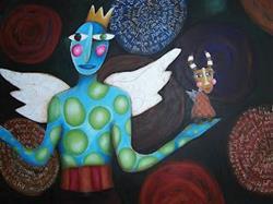 Art: 2005 Good vs Evil by Artist Becci Hethcoat
