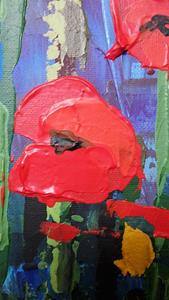 Detail Image for art Red Poppies 155