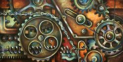 Art: harmony 18.19x36.19 by Artist Michael A Lang