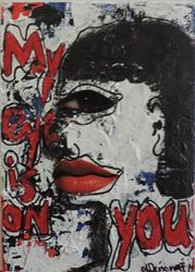 Art: eyes on you  by Artist Nancy Denommee