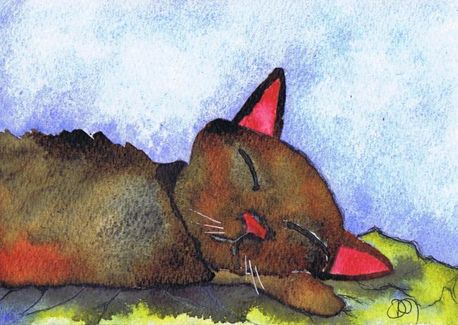 Art: CAT c323 by Artist Dawn Barker