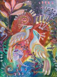Art: Paradise Birds 4919 by Artist Ke Robinson