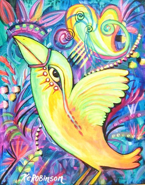 Art: Trin's Love Bird 7744 by Artist Ke Robinson