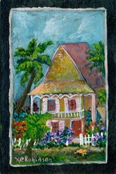 Art: Key West Living by Artist Ke Robinson