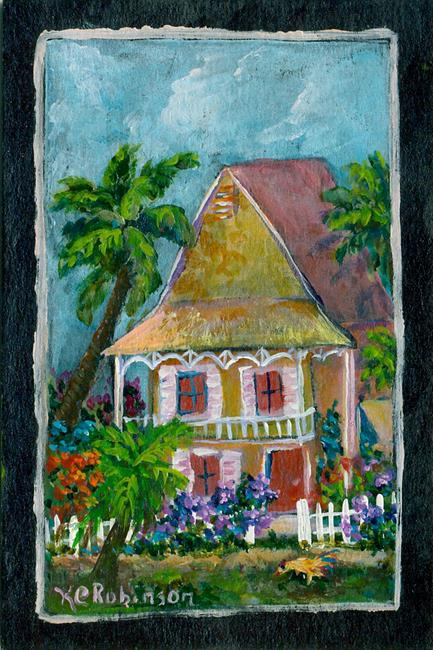 Art: Key West Living by Artist Ke Robinson